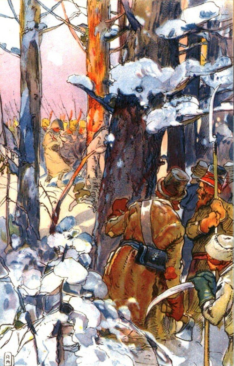 Произведения художника Апсита А.П. о войне 1812 года - 12 Мая 2016 - Персональный сайт
