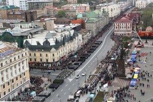 Дальний Восток первым в России празднует День Победы