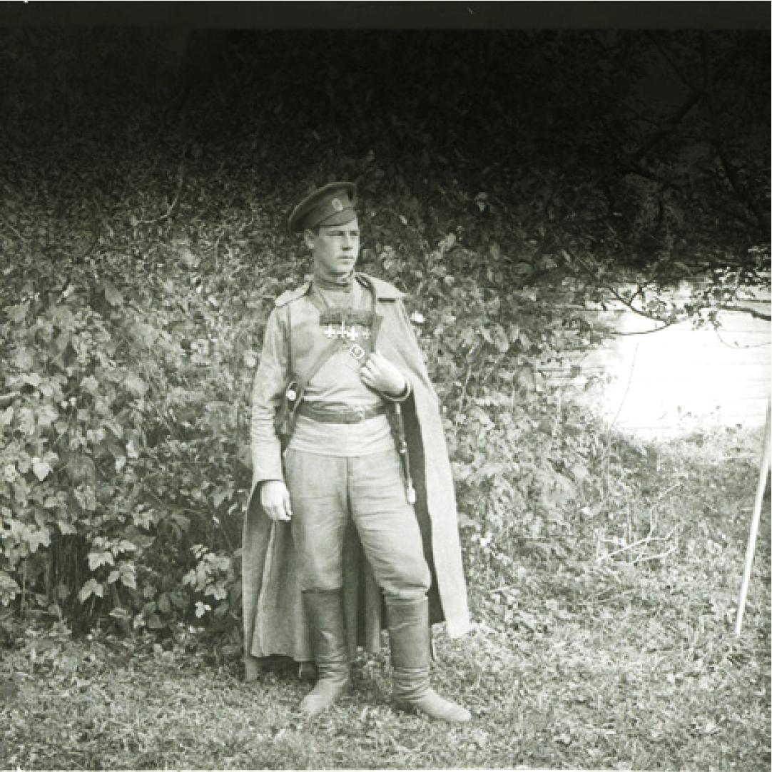 96. 1916. Георгиевский кавалер. Лето. Позиции на реке Сервечь, Минская губерния