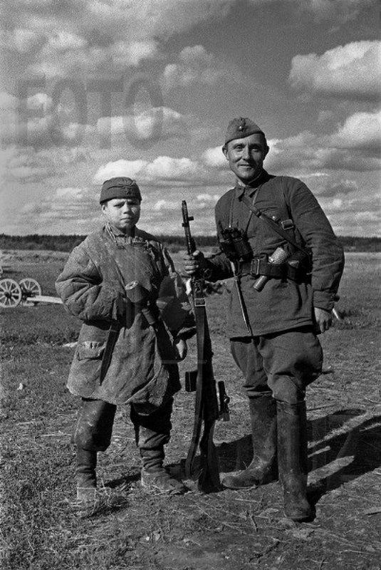 Фронтовой портрет. Сентябрь 1941 года.
