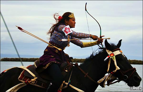 Ябусамэ - спорт самураев