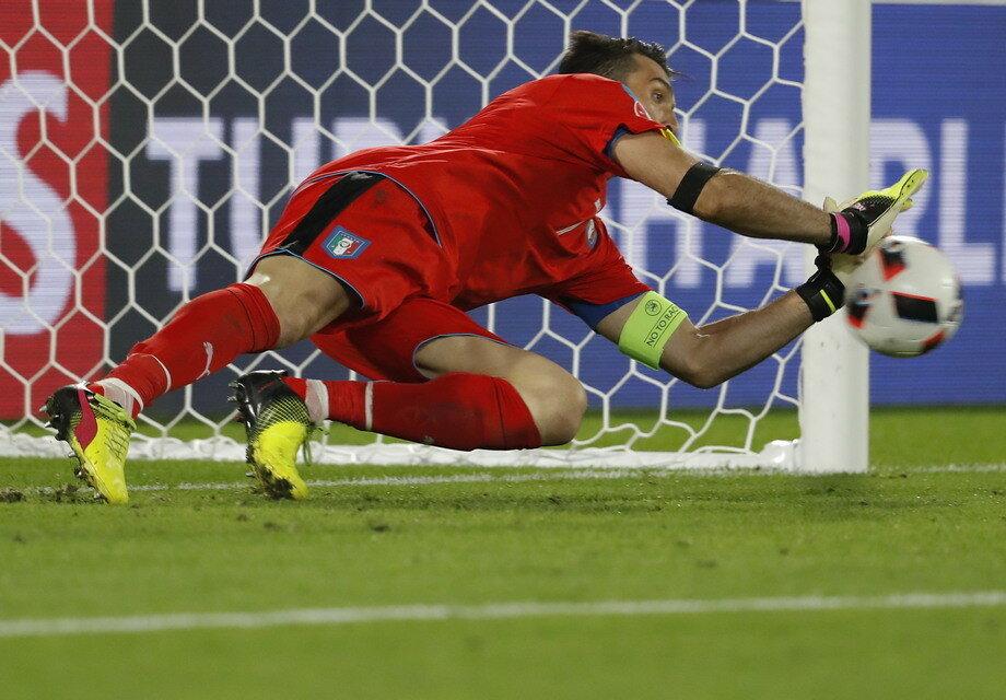 Чемпионат Европы. Германия - Италия