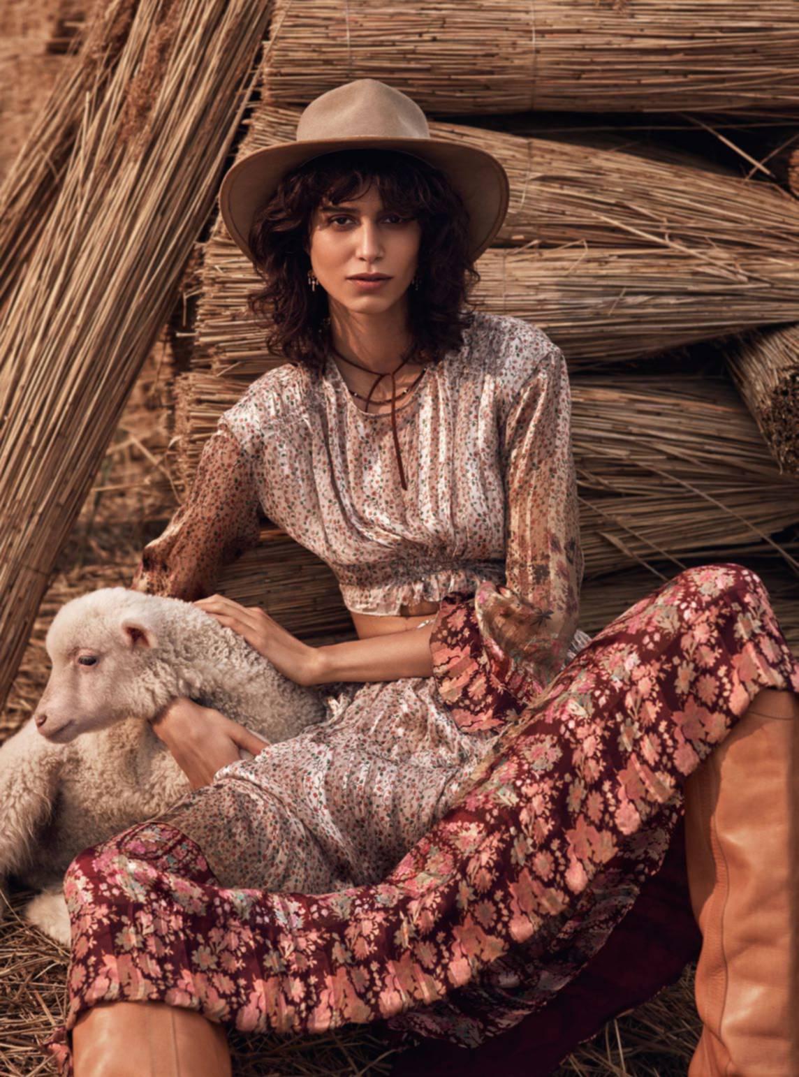 Vogue Paris June July 2016 / Mica Arganaraz by Mikael Jansson