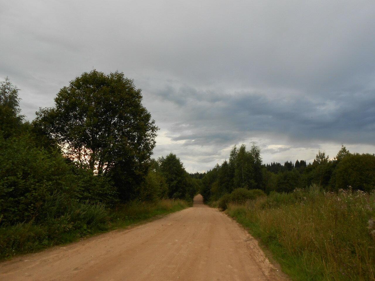 Дорога Байнёво - Новотроицы