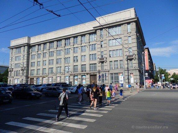 Новосибирск. Здание Государственных учреждений Сибири (Сибирское подворье)