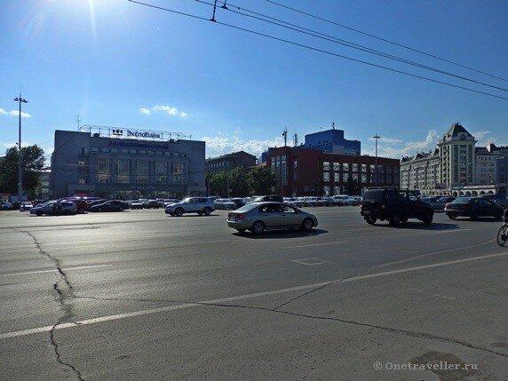 Новосибирск. Площадь Ленина