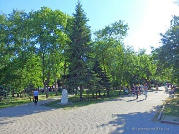 Новосибирск. Первомайский сквер