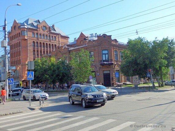 Новосибирск. Дом купца Крюкова