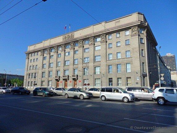 Новосибирск. Здание Промбанка (мэрия Новосибирска)