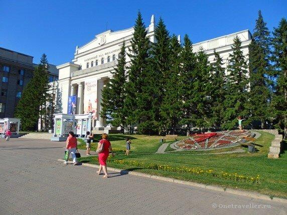 Камерный зал новосибирской филармонии (Дом Ленина)