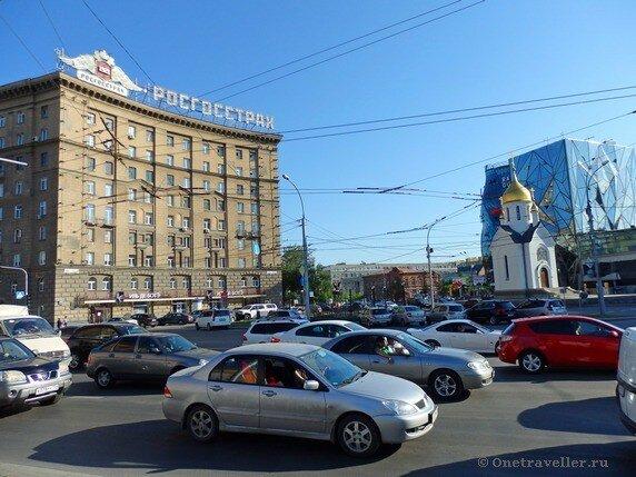 Новосибирск. Дом НИИ-39 (Дом Под строкой)