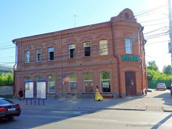 Новосибирск. Доходный дом Бузолиной (старейшая аптека Новосибирска)