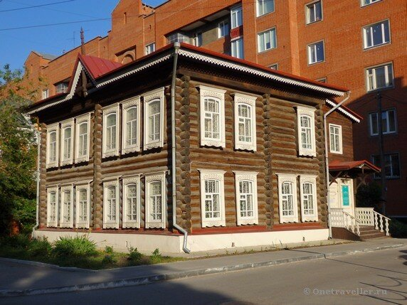 Новосибирск. Доходный дом мещанина Выходцева