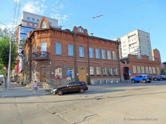 Новосибирск. Дом Сабурова (Дом товарищества Доверие)