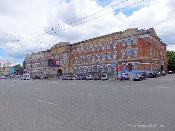 Новосибирск. Дом инвалидов (Дом офицеров)
