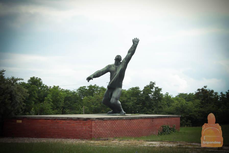 Социалистический памятник в Будапеште