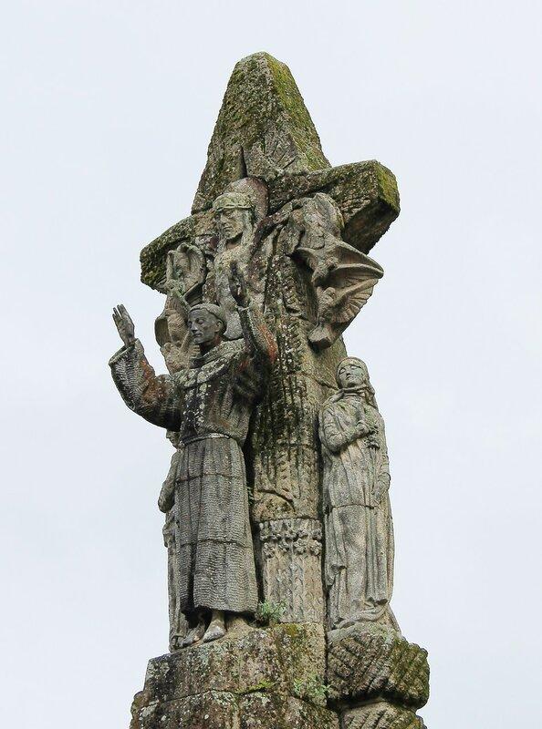 Сантьяго-де-Компостела. Памятник Святому Фансиску Ассизскому (Monumento a San Francisco de Asis)