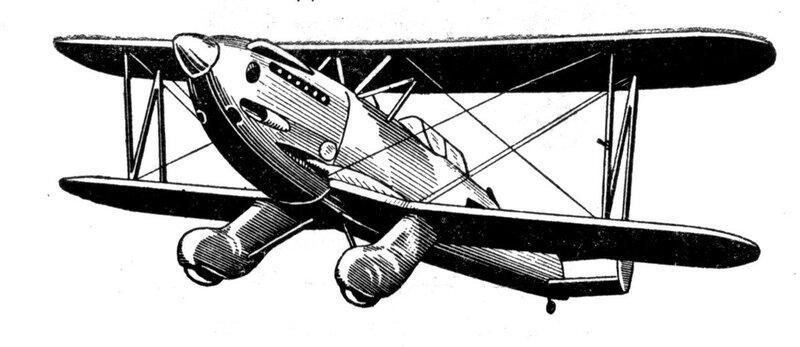Силуэты итальянских самолетов (1939) 042