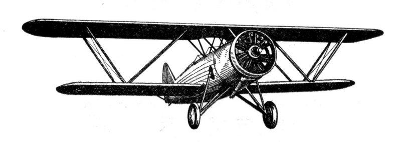 Силуэты итальянских самолетов (1939) 070
