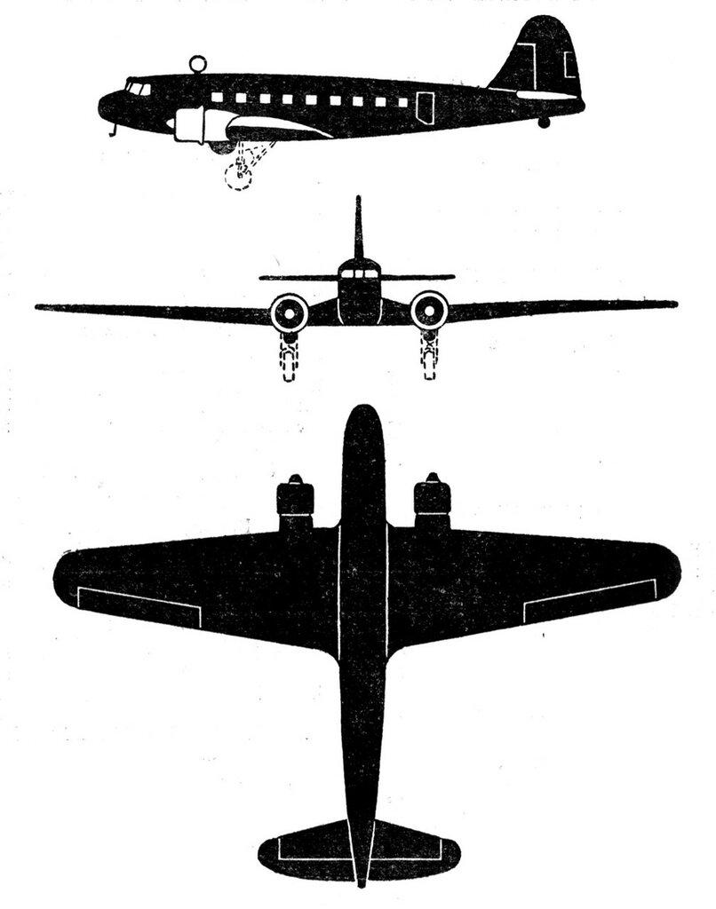 Силуэты итальянских самолетов (1939) 073