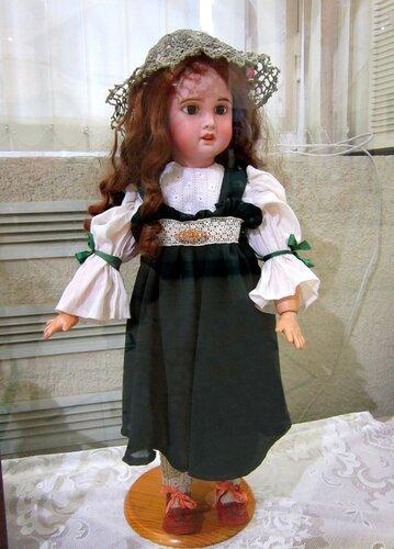 Ходячая кукла. Франция 1900 год.