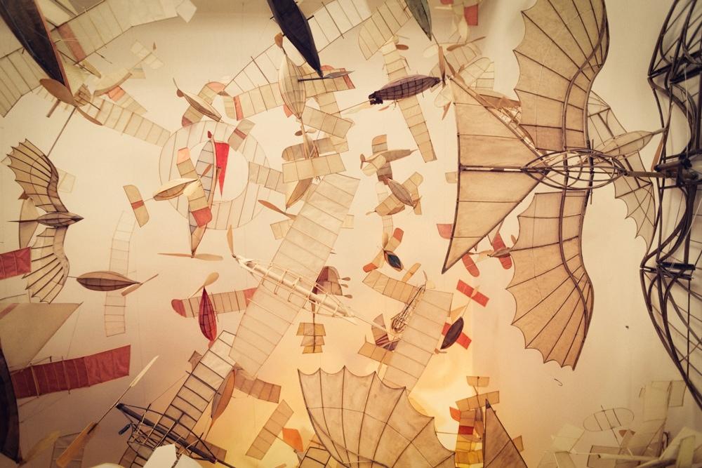 Летающие корабли итальянского архитектора Luigi Prina/ Луиджи Прина