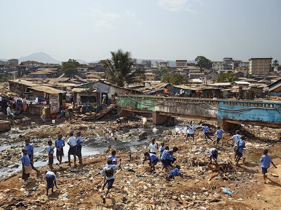 10.Фритаун, Сьерра-Леоне.