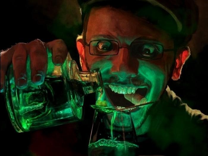 13. Абсент Этот крепкий алкогольный напиток изготавливается из листьев различных сортов полыни. Хотя