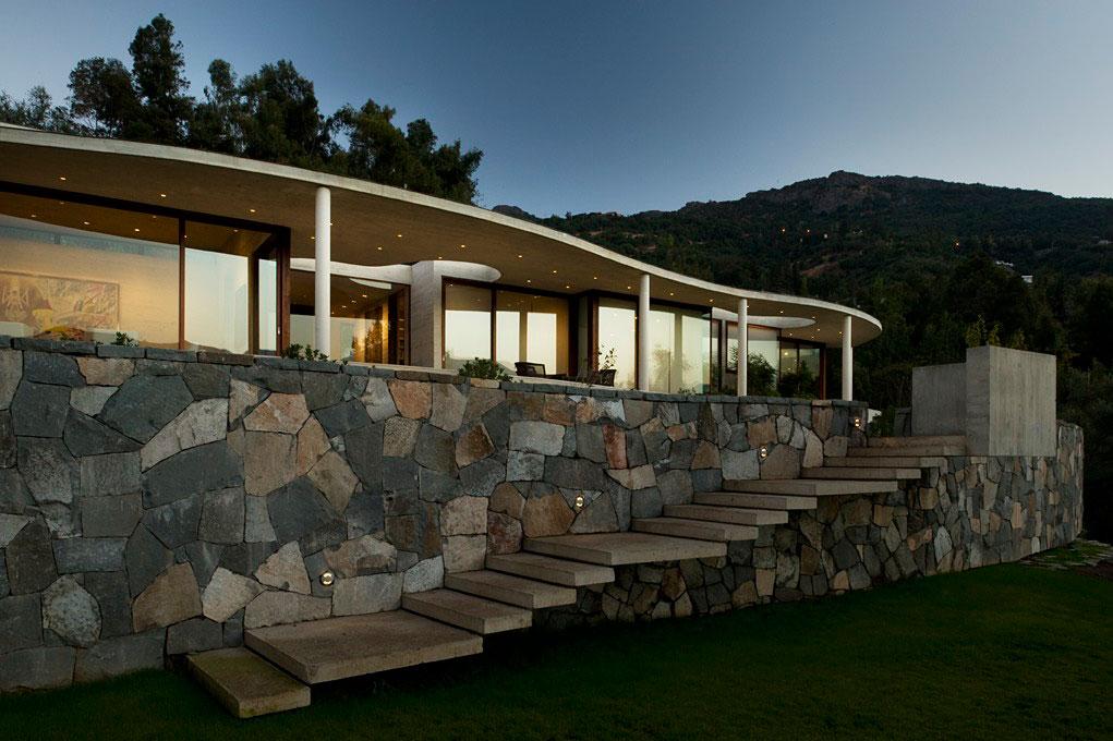 Проект дома Lo Curro House от Penafiel Arquitectos (27 фото)