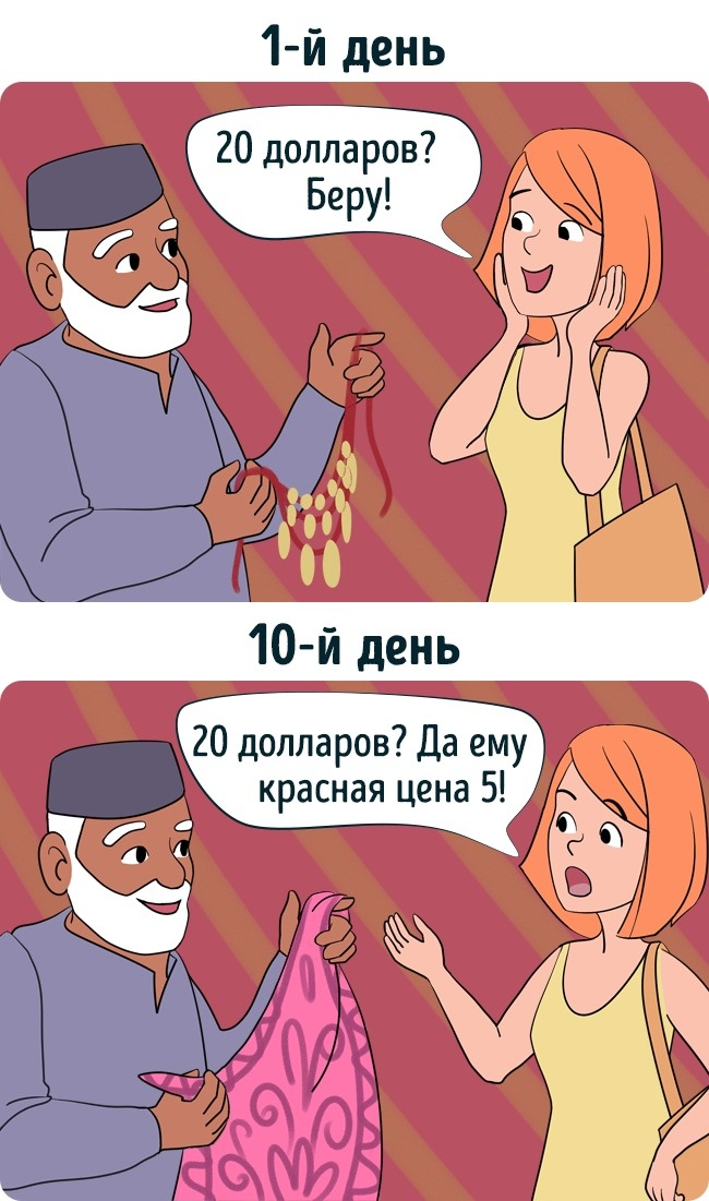 12иллюстраций изжизни туриста