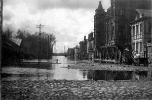 Наводнение в Рыбинске 1915 года