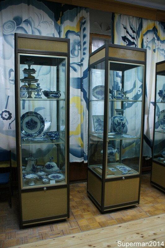 Гжельский фарфоровый завод - музей