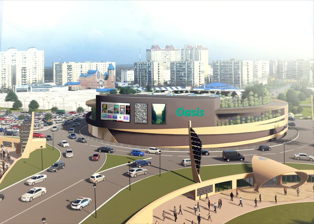 ВКиевском метро назвали безопасным скандальное строительство ТРЦ на«Героев Днепра»