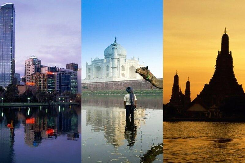 Большие фотографии городов на рабочий стол