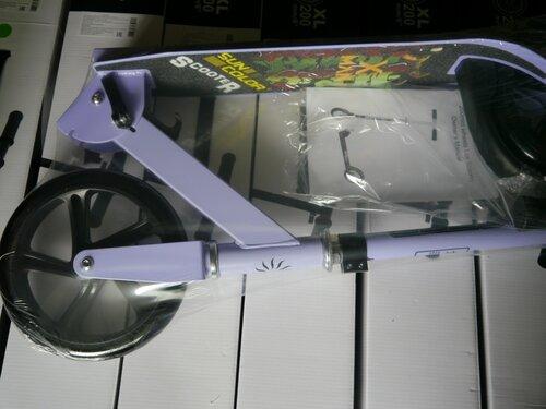 Складной самокат алюминиевый с большими колесами SunColor Scooter X-Man