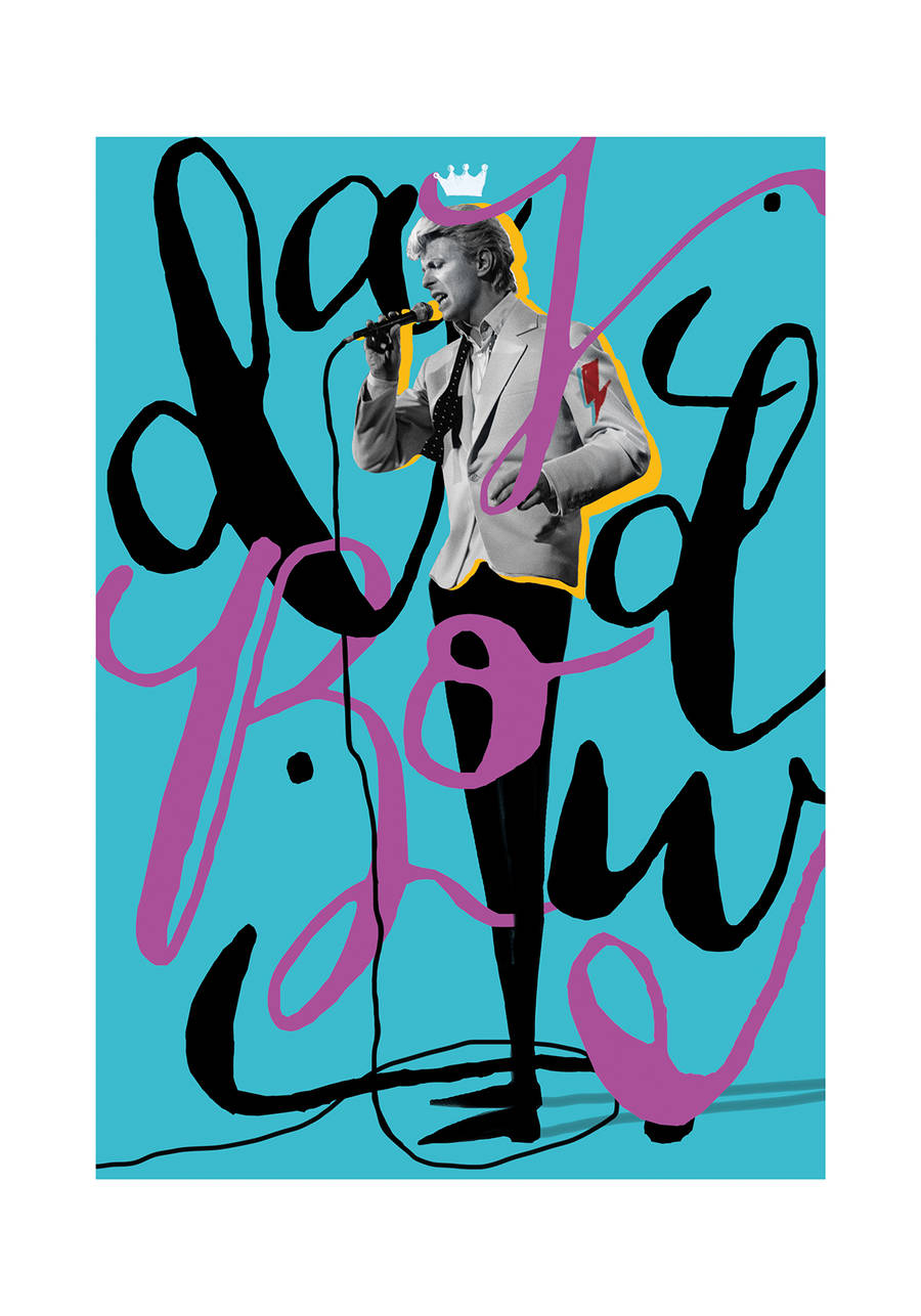 Graphic Series of David Bowie