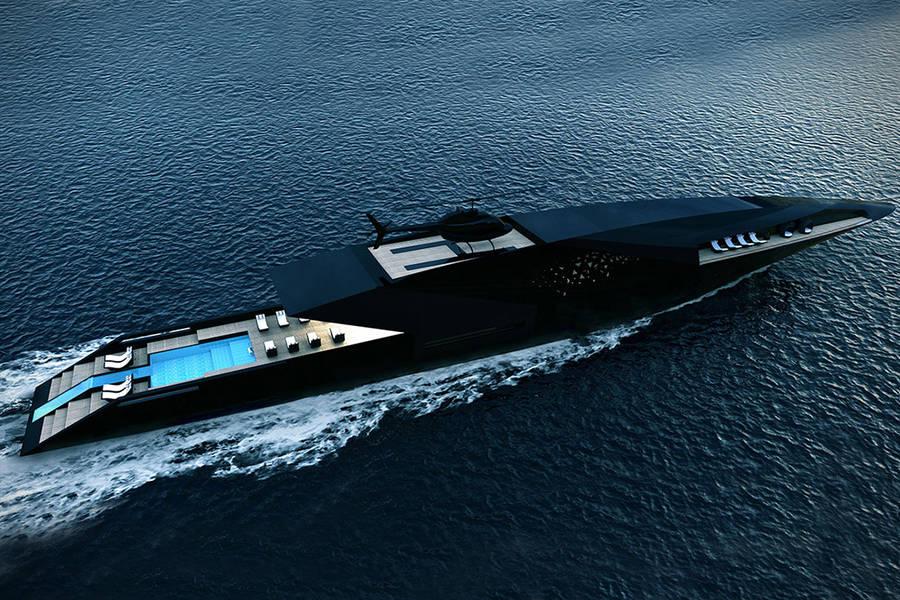 The Black Swan Superyacht