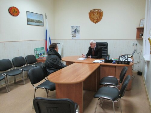 Личный прием граждан главой администрации городского округа 22.09.2016
