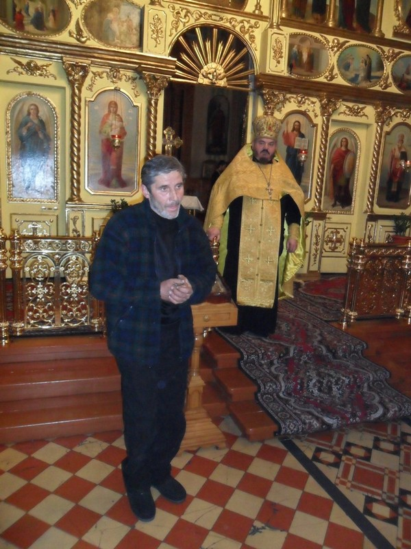 Иконописец Сергей Богданов рассказывает о иконе Андрея Первозванного и о проделанном крестом пути по Украине