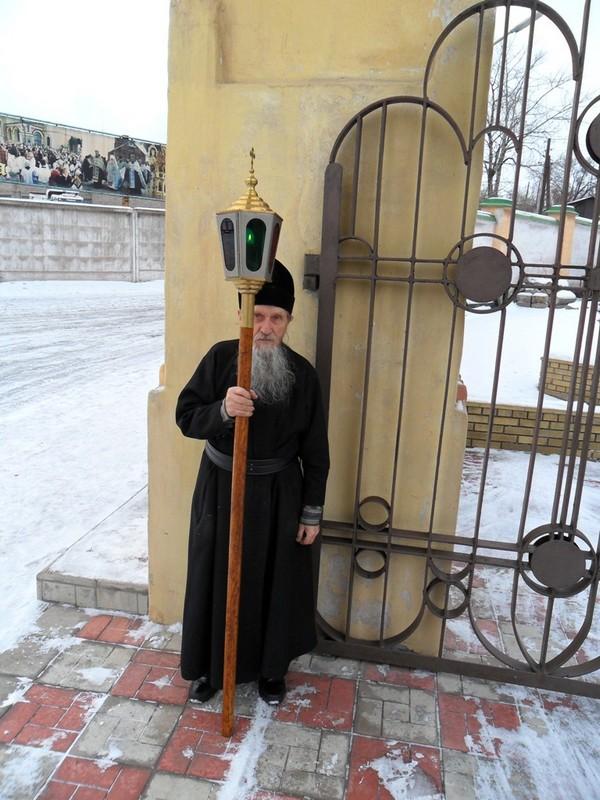 Встреча иконы Андрея Первозванного 17 января 2011 г