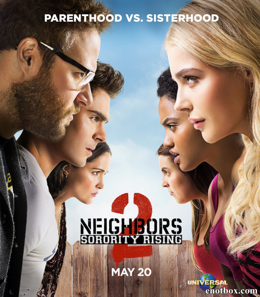 Соседи. На тропе войны 2 / Neighbors 2: Sorority Rising (2016/WEB-DL/WEB-DLRip)