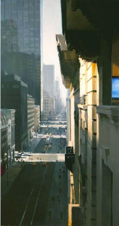 Fifth Avenue, 2010, 84x44.5