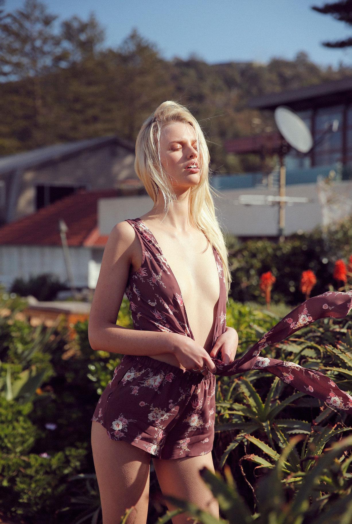 Элоди Расселл / Elodie Russell by Cameron Hammond - Flynn Skye Pre-Spring 16 lookbook