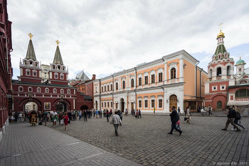 Дом губернского правления Красного монетного двора на Красной площади
