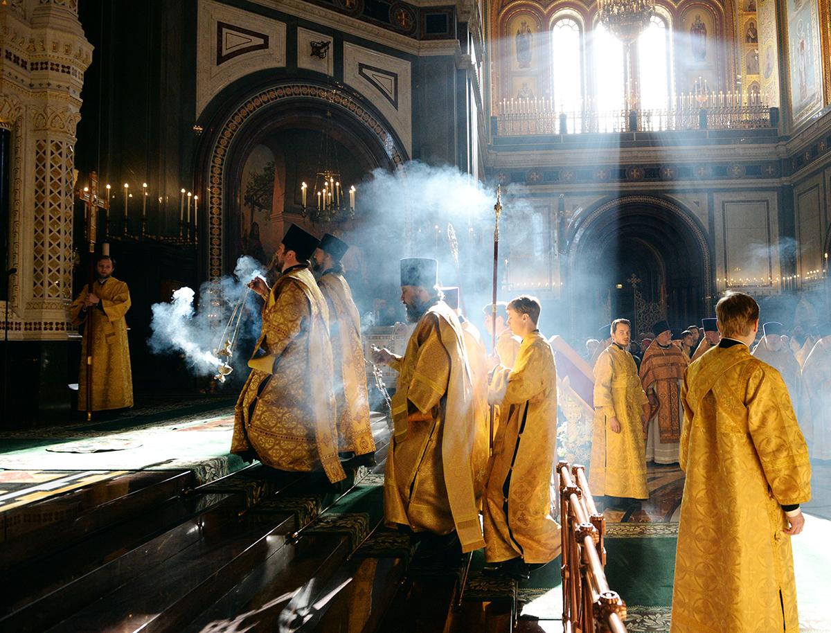 Храм Христа Спасителя 20марта Торжество Православия