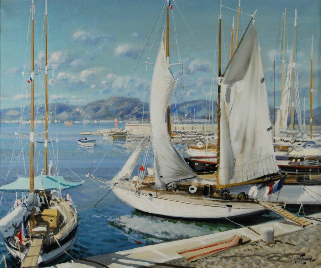 """""""St Tropez Harbour"""""""