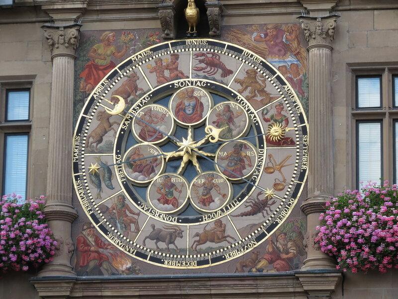 Астрономические часы хайльброннской ратуши