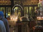 """22.05.2016. Память свт. Николая Чудотворца. Малый престол в храме иконы Божией Матери """"Нечаянная Радость"""" в Марьиной роще"""