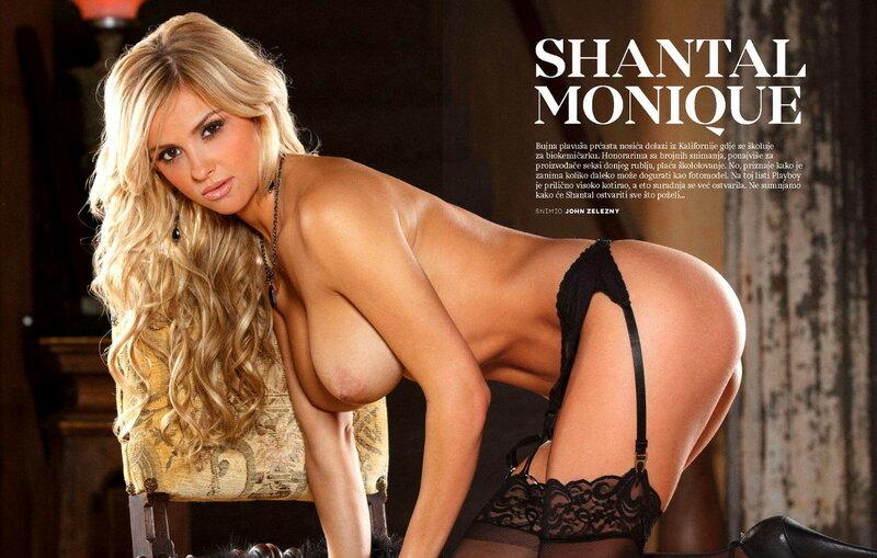 Shantal Monique in Playboy Croatia