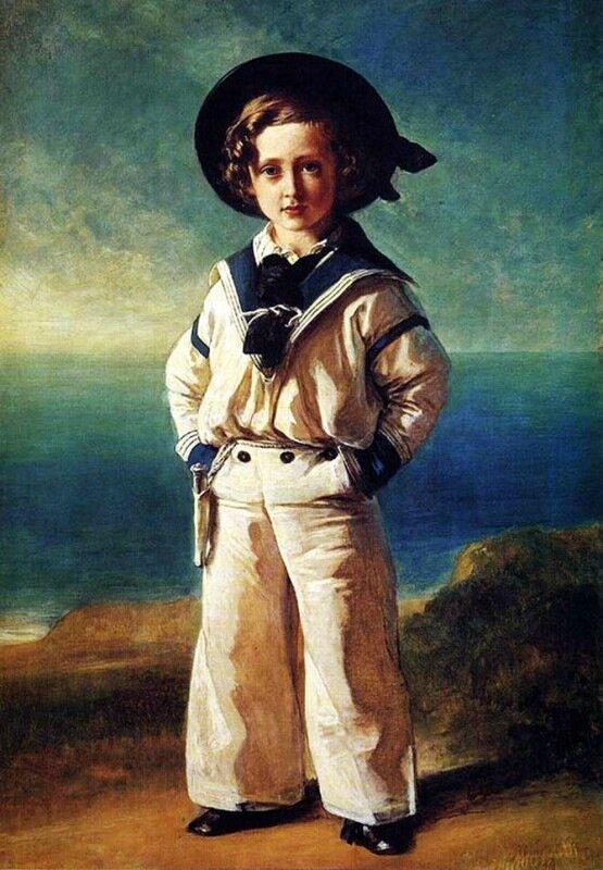 Детский морской костюм для мальчиков и девочек